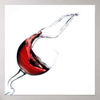 Habla wine poster