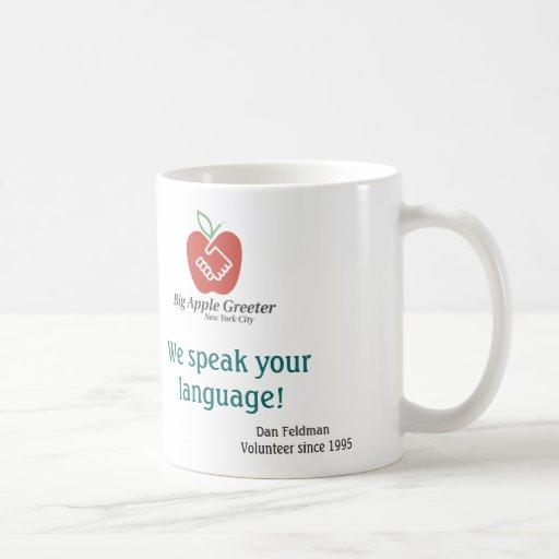 Hablamos su taza de la lengua