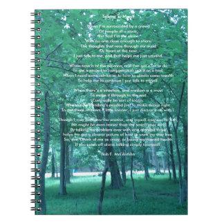 Hablando conmigo mismo el cuaderno