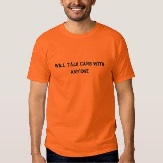 Hablará los coches con CUALQUIER PERSONA Polera