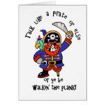 Hable al pirata o camine el tablón - es día del pi