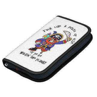 Hable al pirata o camine el tablón - es día del pi planificador