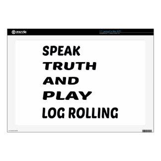 Hable el balanceo del registro de la verdad y del calcomanía para 43,2cm portátil