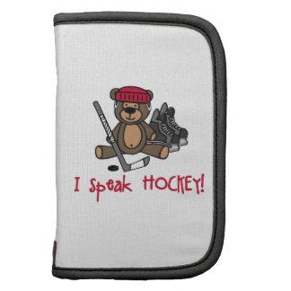 Hable el hockey organizadores