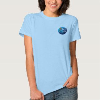Hable la ballena (trasera) camisas