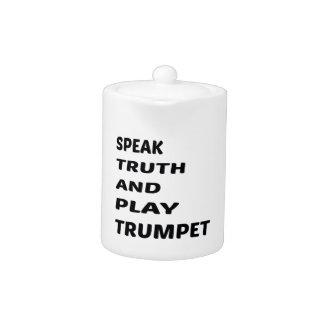 Hable la trompeta de la verdad y del juego