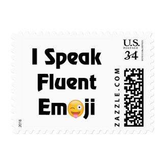 Hable los sellos de Emoji