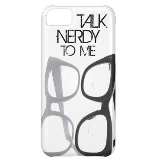 Hable nerdy conmigo el caso del iPhone 5S 4 del em