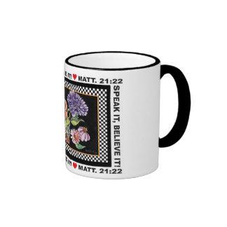 HÁBLELO, CRÉALO taza de café