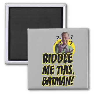 Hábleme enigmáticamente este Batman Iman