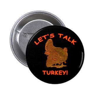 Hablemos la ropa de la acción de gracias de Turquí Pins