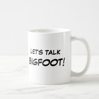 Hablemos las tazas de Bigfoot