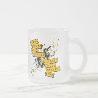 Hablo al ejército taza de café