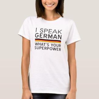 ¿Hablo alemán cuál es su superpotencia? Playera