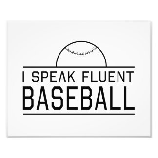 Hablo béisbol fluido fotografia