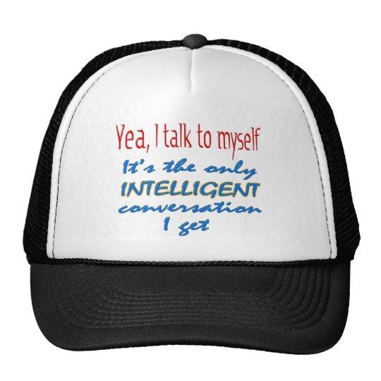 Hablo conmigo mismo gorras de camionero