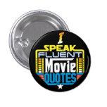 Hablo el botón fluido de las citas de la película pins