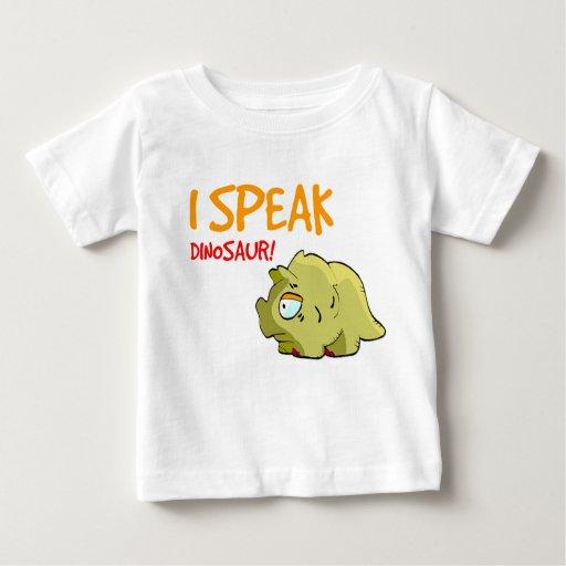 """""""Hablo el dinosaurio!"""" Camiseta"""