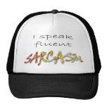 Hablo el gorra fluido del sarcasmo