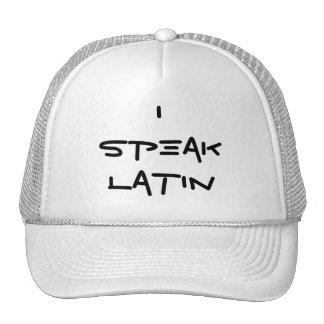 Hablo el gorra latino
