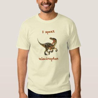Hablo el Velociraptor Poleras