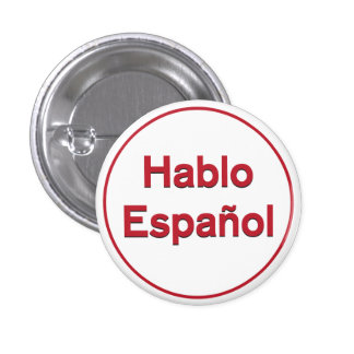 Hablo Español - hablo español Pin