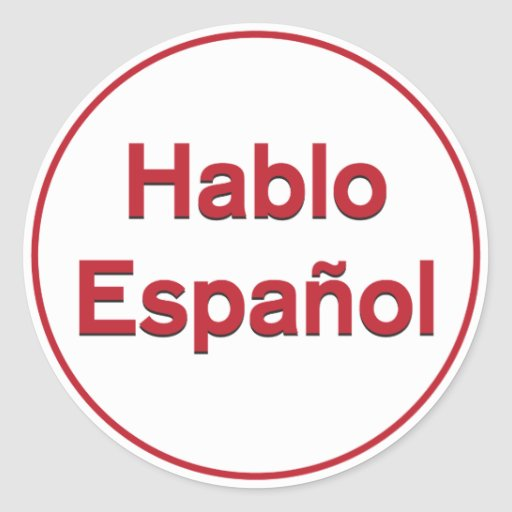 i know how to speak spanish