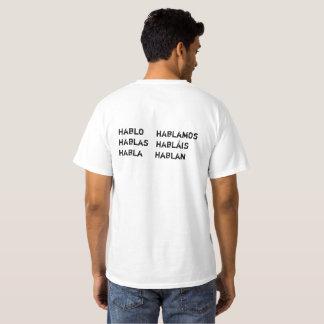 Hablo español tee shirt
