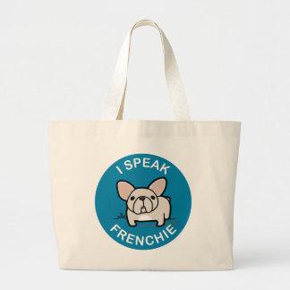 Hablo Frenchie - azul Bolsa