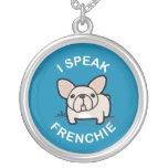 Hablo Frenchie - azul Collares