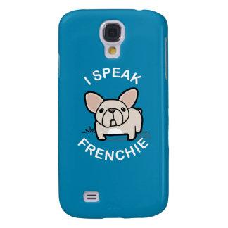 Hablo Frenchie - azul Funda Para Galaxy S4
