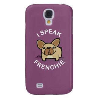 Hablo Frenchie - púrpura Funda Para Galaxy S4