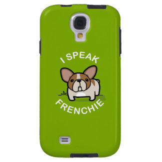Hablo Frenchie - verde Funda Para Galaxy S4