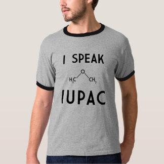 Hablo IUPAC Camisas