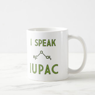Hablo IUPAC Taza De Café