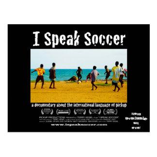 Hablo la postal del lanzamiento del DVD del fútbol