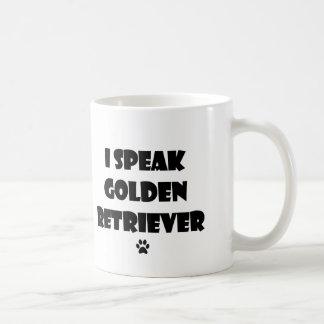 Hablo la taza del golden retriever