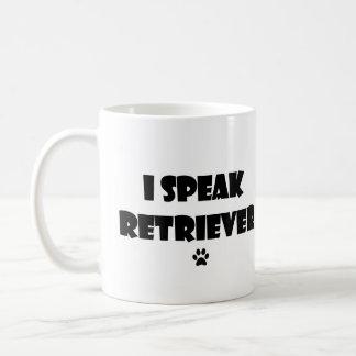 Hablo la taza del perro perdiguero