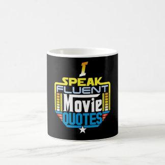 Hablo la taza fluida de las citas de la película