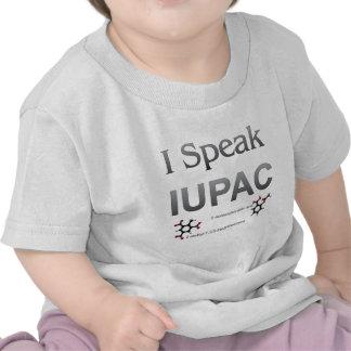 Hablo nomenclatura de la química de IUPAC Camiseta