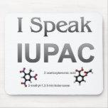 Hablo nomenclatura de la química de IUPAC Tapete De Raton