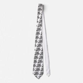 hablo sarcasmo fluido corbata personalizada
