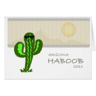 haboob 2011 de Arizona Tarjeta De Felicitación
