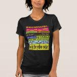 Habríamos calificado…. camisetas