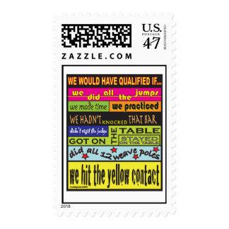 Habríamos calificado…. timbres postales