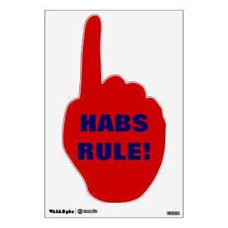 HABS HAND WALL STICKER