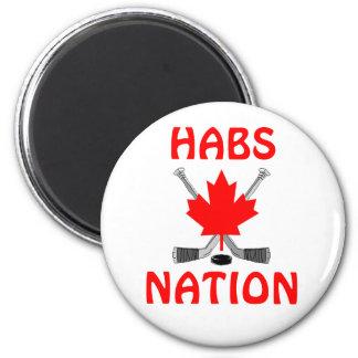 HABS NATION REFRIGERATOR MAGNET
