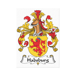 Habsburg Family Crest Gallery Wrap Canvas