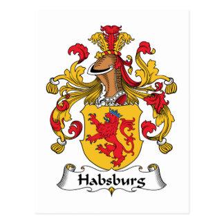 Habsburg Family Crest Postcard