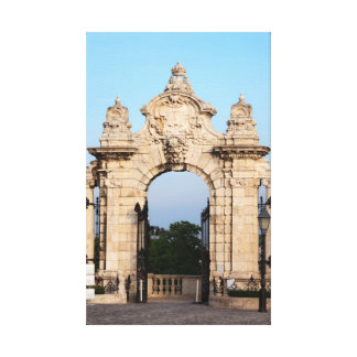 Habsburg Gate in Budapest Gallery Wrap Canvas